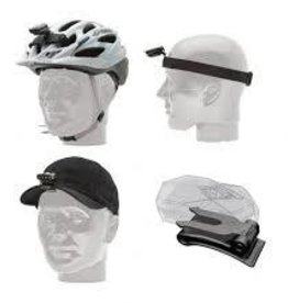 Blackburn - Copilot Accessories LIGHT STRAPS, FLEA HELMET HEAD HAT MOUNT
