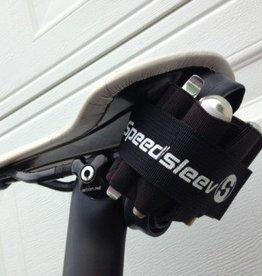 SpeedSleev BAG, SPEEDSLEEV, Elastic, Pro Seatsleeve, Saddle Pack: Black