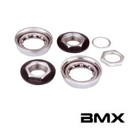 Others Varia, BMX Bottom Bracket For One-Piece Crank Silver