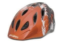 GIRO HELMET RASCAL, GIRO, Orange/Charcoal Blockade, S/M, 46-50CM