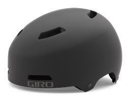 GIRO HELMET QUARTER, MATTE BLACK, S, 51-55CM