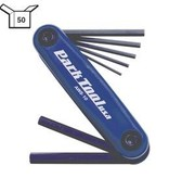 Park Tool Park Tl, AWS-10, Flding hex wrench set, 1.5mm, 2mm, 2.5mm, 3m, 4mm, 5mm and 6mm