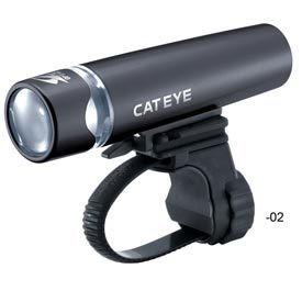 Cat Eye LIGHT, UNO (HL-EL010), CAT EYE Headlight, Black