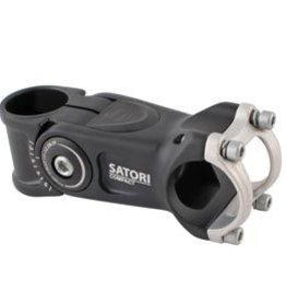 SATORI Sarori, Compact, Adjustable threadless stem, ST: 28.6mm, -20 to 50, C: 31.8mm, Black, 110mm