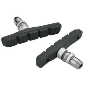 Jagwire Jagwire, Muntain Sprt, V-brake pads, All-Weather (Aw), Black, Pair