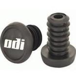 ODI ODI BMX PUSH-IN BAR END PLUGS, Black, PAIR