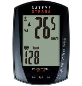 Cat Eye Cat Eye, Strada Digital Wireless (CC-RD410DWB), Cyclcmputer, Speed, Cadence