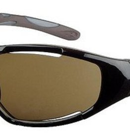SWERVE, PRO GLOSS BLACK/BROWN + SILVER FLASH MIRROR LENS