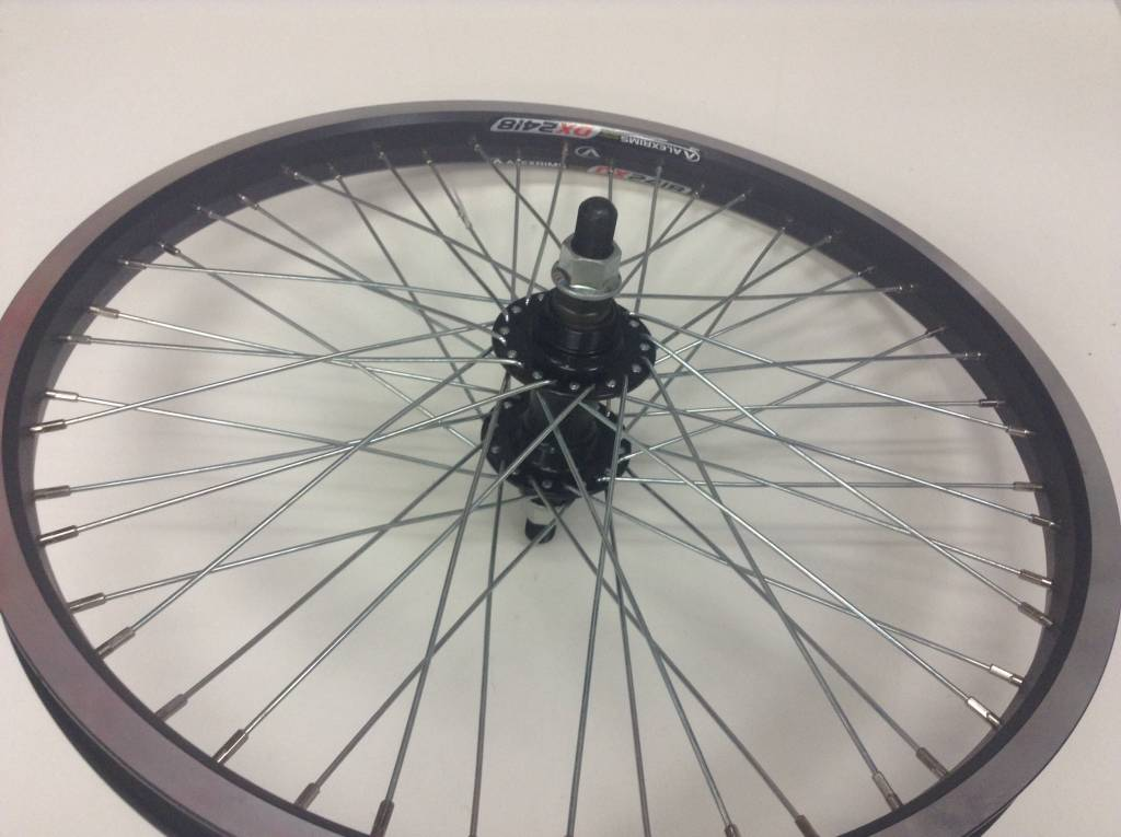 Roues WHEEL, ALEX DM24/Formula, DX-42, Rear, 20'', DW Black Rim, 48XSteel, 1 Speed Freewheel
