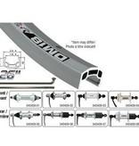 Handbuilt Wheels FR, 26'', Wheel, Alex DM-18, Silver / FM-21-F Silver, 36 Stainless Spokes, Nutted Axle