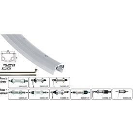 Handbuilt Wheels Rear 26'', Alex C1000, Wheel Silver / CB-E110 Silver, 36 Steel spokes, Nutted axle, Coaster Brake