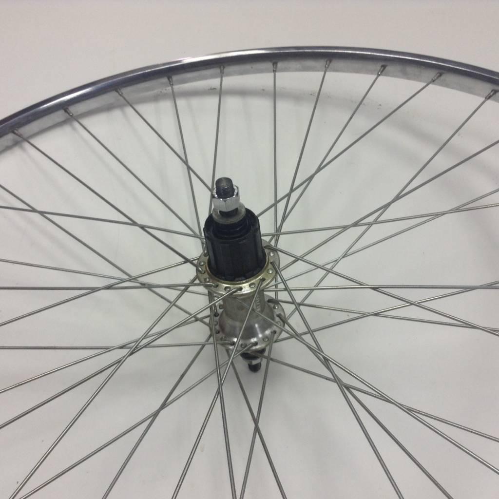 Rear, Wheel, 700C, Rim, Altus, RM-40, Nut 36H