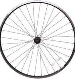 Handbuilt Wheels Front 16'' Wheel Alex C1000 Silver / KT-104F Silver, 28 Steel spokes, Nutted 5/16'' axle