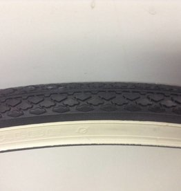 Schwalbe SCHWALBE, HS159, 26x1-3/8 (37-584), Wire, SBC, KevlarGuard, 50TPI, 35-65PSI, 580g, White wall, TIRE,