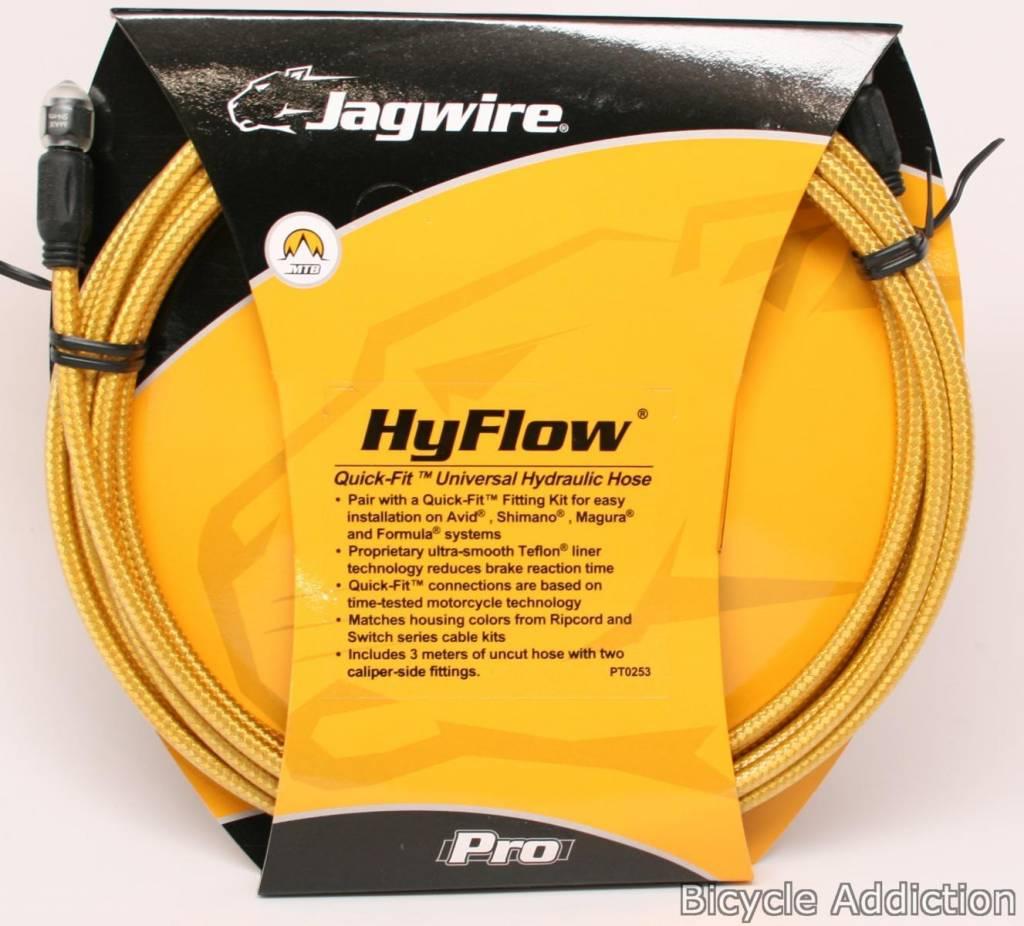 Jagwire Jagwire, HyFlow, DISC BRAKE HOSE KIT, Hydraulic, Shimano, BLACK CARBON