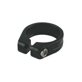Evo EV, Seatpst clamp with integrated blt, 31.8mm, Black
