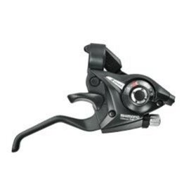 Shimano Shimano, ST-EF51, Shift/Brake lever combo, 3x7sp., Black, Pair