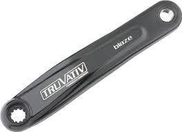 Truvativ Truvativ, Isoflow, Left hand crank arm, Black, Powerspline, 175mm