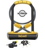 Onguard OnGuard, Pitbull DT 8005, U-Lock, 115 X 230 X 14mm + ,Cable, 10mm x 120cm
