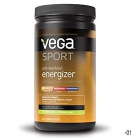 Vega Vega Sport, Pre Workout Energizer, Drink mix, Acai Berry, 19oz