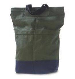 LINUS SAC BAG, ARMY GREEN/ROYAL, LINUS