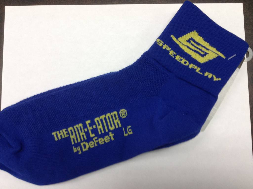 Logo Socks - Blue Large, SZ 9.5-11.5