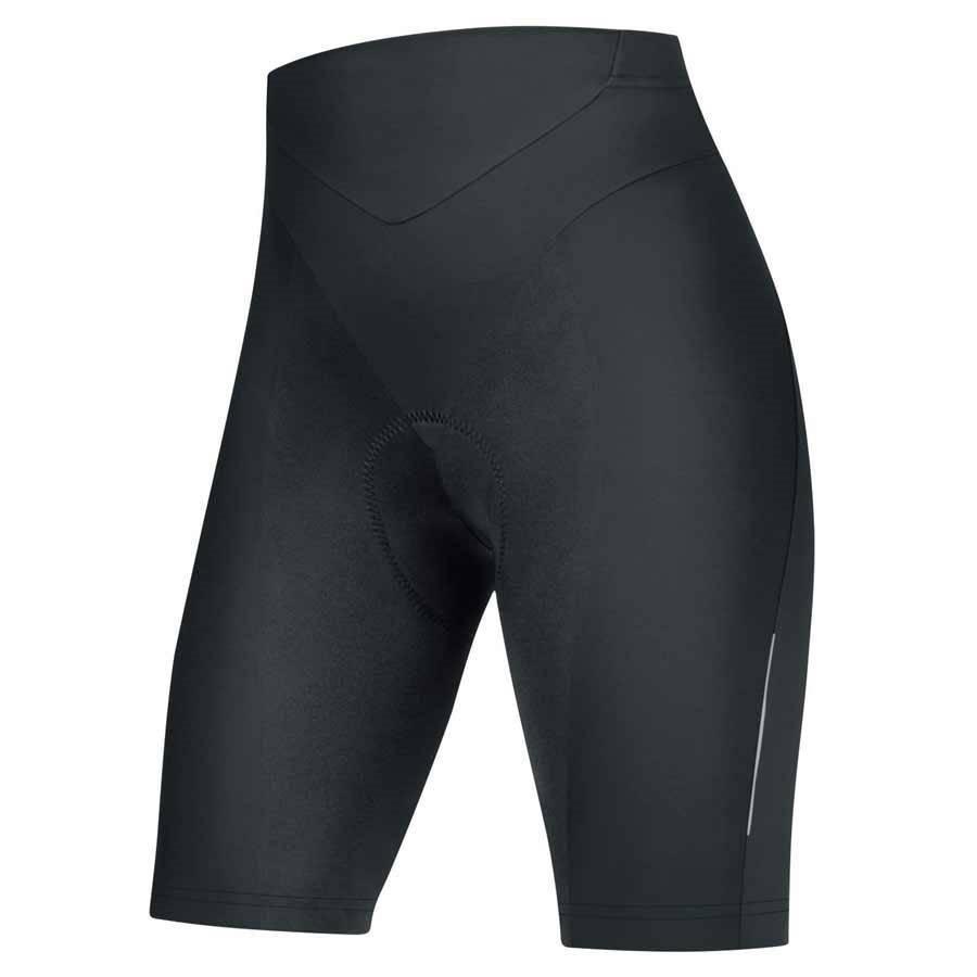 Gore Bike Wear Power Quest Lady, Tights Short +, Gore Bike Wear, (TLPOWL9900), Black, XXL (44)
