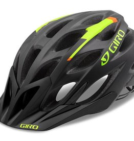 GIRO HELMET PHASE MAT BLACK/LIME/FLAME L