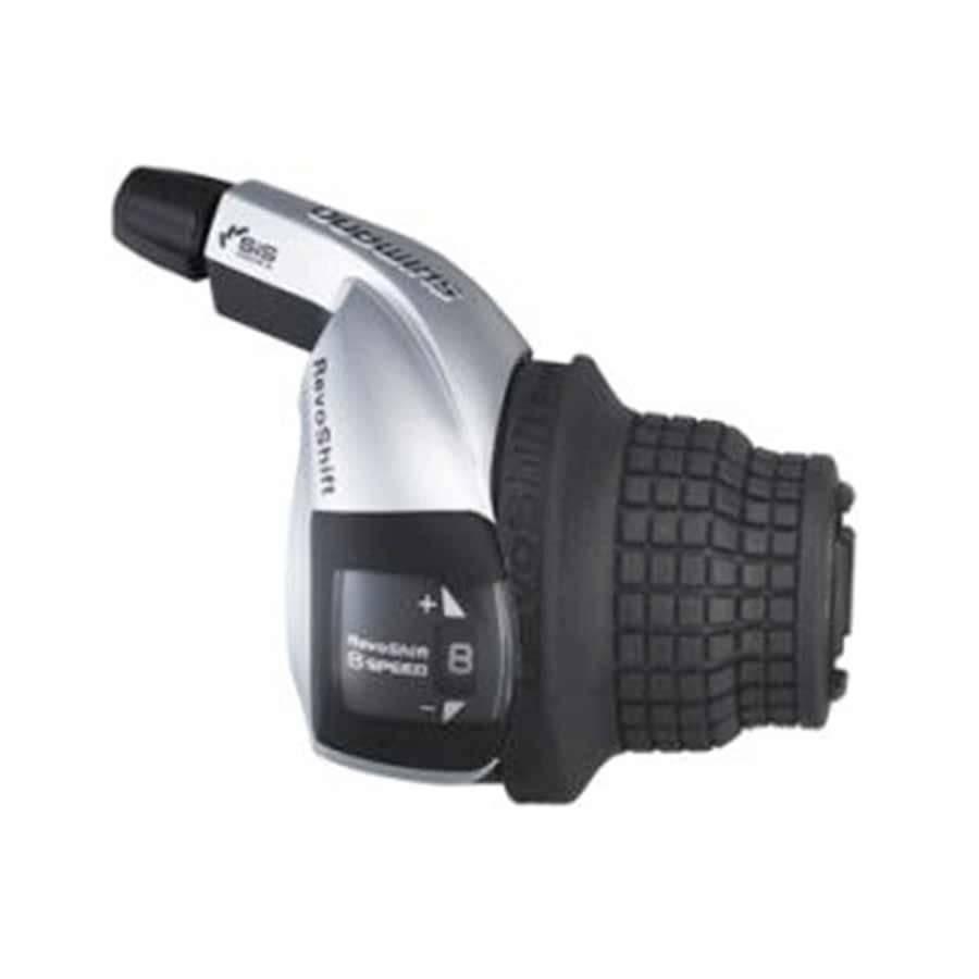 Shimano Shiman, Turney Revshift SL-RS45, Shift levers, 7 sp., Black, Pair