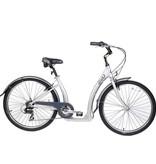 Evo EVO, Oak Hill 7-Speed City Bike, Silver (2016)