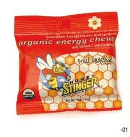 Honey Stinger Honey Stinger, Organic Energy Chews, Box of 12 x 50g, Fruit Smoothie