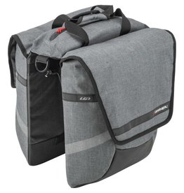 GARNEAU GARNEAU MIDTOWN CYCLING BAG HEATHER GRAY GRIS CHINE O/S