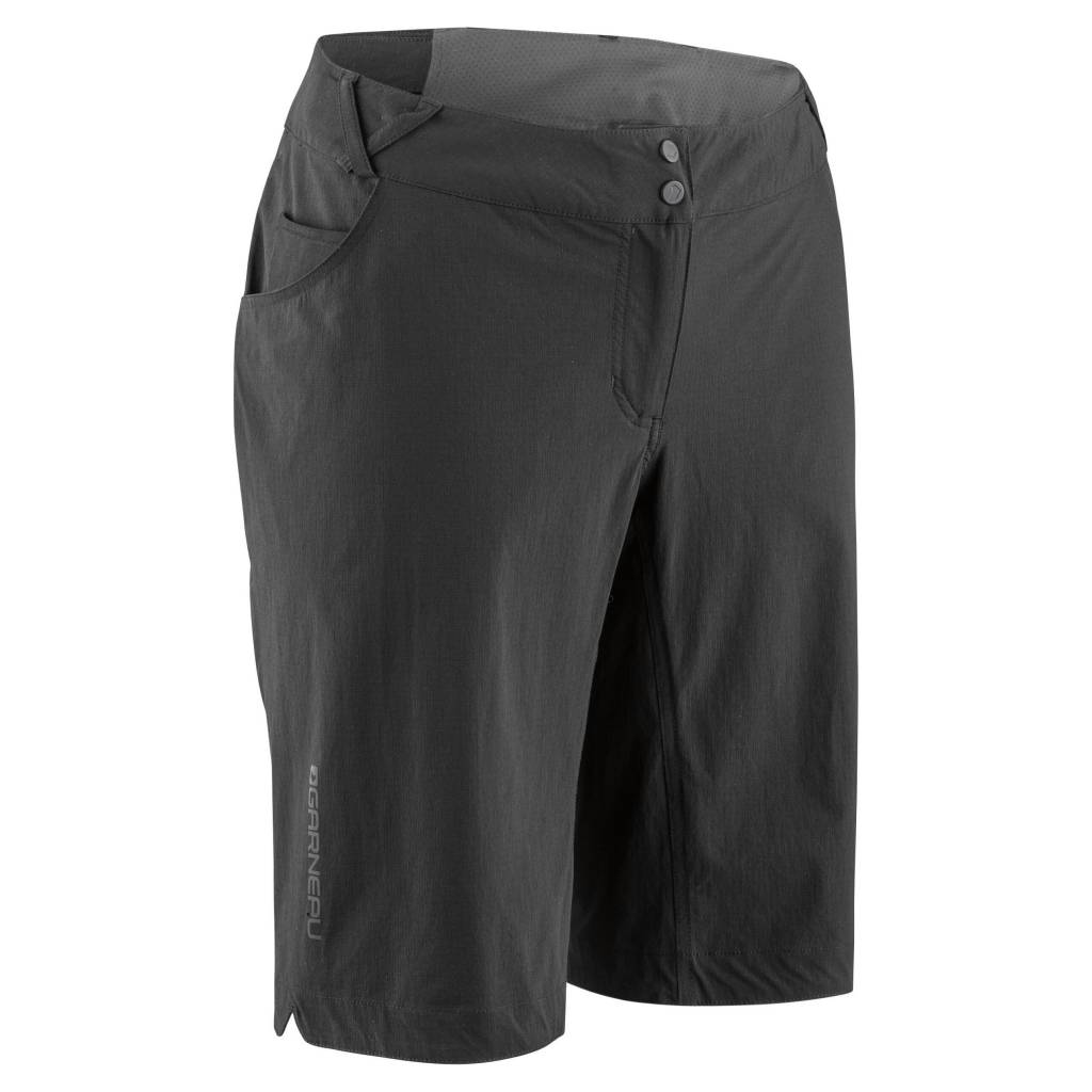 GARNEAU WOMEN'S CONNECTOR CYCLING SHOR NOIR BLACK