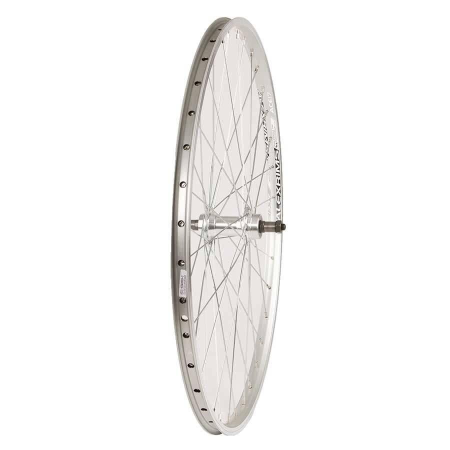 Roues Rear 26'' Alex ACE-17 Wheel Silver/ FM-31 Silver, 36 Steel Spokes, QR Axle, Freewheel