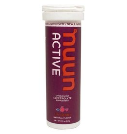 Nuun Nuun Active Hydration Tablets, 8 tubes, Tri-Berry