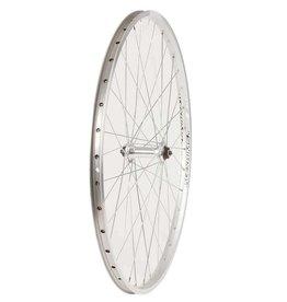 Handbuilt Wheels Front, 26'', Wheel, Alex ACE-17 Silver/ FM-21Silver, 36 Steel Spokes, QR Axle