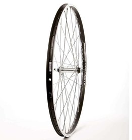 Handbuilt Wheels Front, 26'', Wheel, Alex ACE-17, Black, FM-21Silver, 36 Steel Spokes, Bolt-on axle