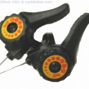 5/6 speed FRICTION SHIFTERS BLACK