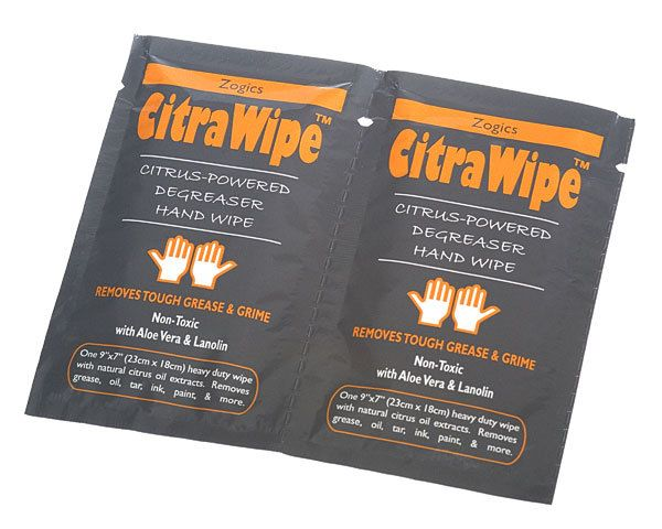 Autres Citrawipe Citrus Powered Degreaser Hand Wipe.1 Box Of 30 Packs Of 2 single
