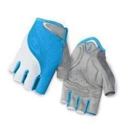 GIRO GLOVES TESSA BLUE JEWEL/WHITE  M
