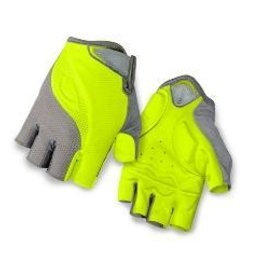 GIRO GLOVES TESSA TITANIUM/HIGHLIGHT YELLOW  L