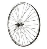 Coaster, Wheel, 26×1.75/2.125, Silver, Alloy, Single Wall