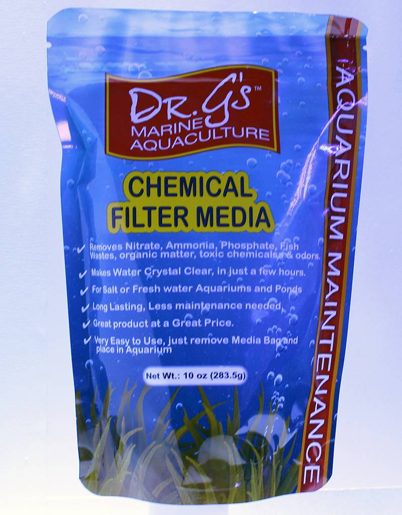 Dr. G's Marine Aquaculture Dr. G's Chemical Filter Media 10 oz (283.5g)