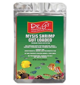 Dr. G's Marine Aquaculture Dr. G's Mysis Shrimp Gut Loaded Frozen Cubes