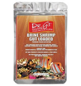 Dr. G's Marine Aquaculture Dr. G's Brine Shrimp Gut Loaded Frozen Cubes