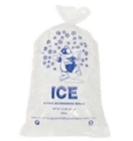 SANECK INTERNATIONAL Bags, 10lb. Printed Ice Bags 2/500ct. Case