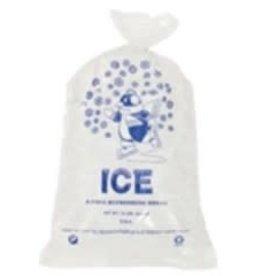 SANECK INTERNATIONAL Bags, 10lb. Printed Ice Bags 500ct. Box