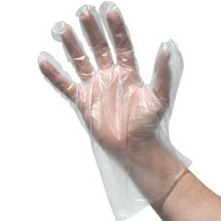 PRIME SOURCE Gloves, P/S Large Disposable Pack 100ct. Box