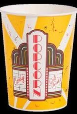 Solo Foodservice Popcorn Tub, 130oz. Premier Design Tub (VP130) 6/25ct. Case