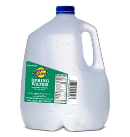 MAGNETIC SPRINGS BOTTLED Distilled Water, 3/1Gal. Case